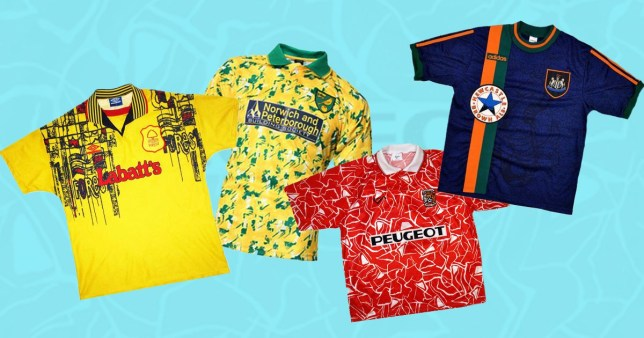 newest 781a3 f4e5f The 25 worst kits in Premier League history | Metro News