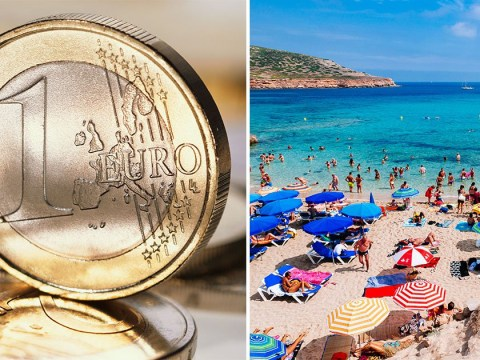 Book a last minute holiday now because the pound could be worth the same as the euro soon
