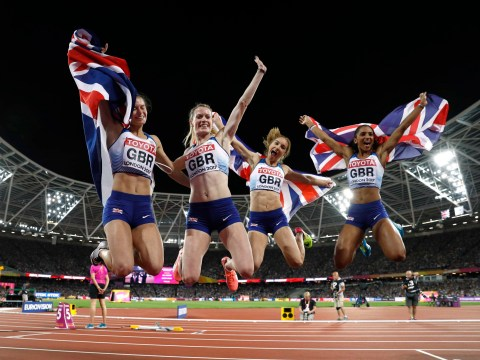 Great Britain win 4x400m silver medal behind United States as Jamaica suffer yet more heartbreak