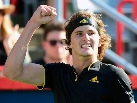 Roger Federer stunned by Alexander Zverev in the Rogers Cup final