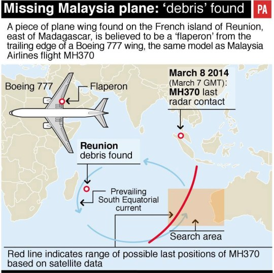 What happened to flight MH370 and has the search been called
