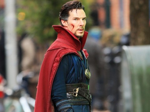 Here's the first look at Benedict Cumberbatch as Doctor Strange in the new Thor: Ragnarok trailer