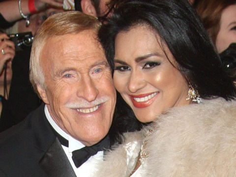 Sir Bruce Forsyth's widow speaks of 'very big hold' and reveals he died 'quietly and in peace'