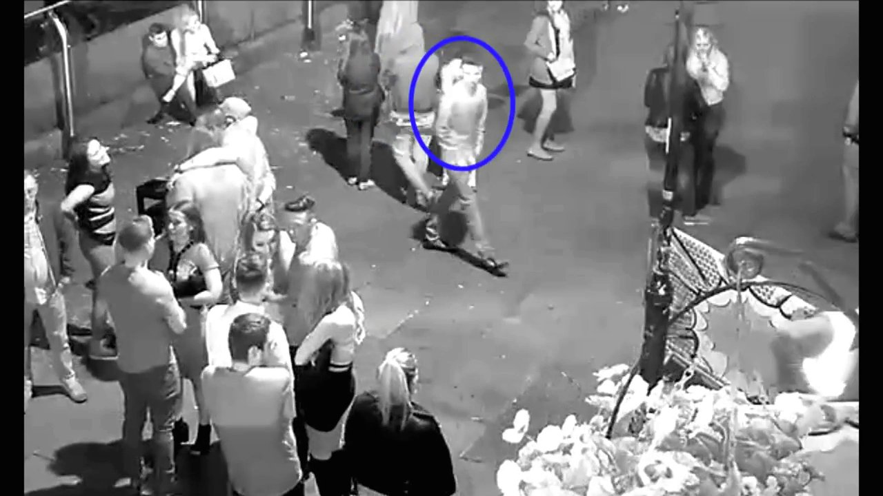 Police release CCTV footage of man they are seeking over rape investigation