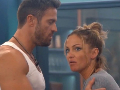 Nicola Roberts refuses to defend Sarah Harding's antics with Chad Johnson in Celebrity Big Brother