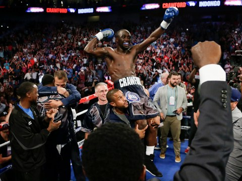 Terence Crawford beats Julius Indongo to make undisputed champion 'dream' come true