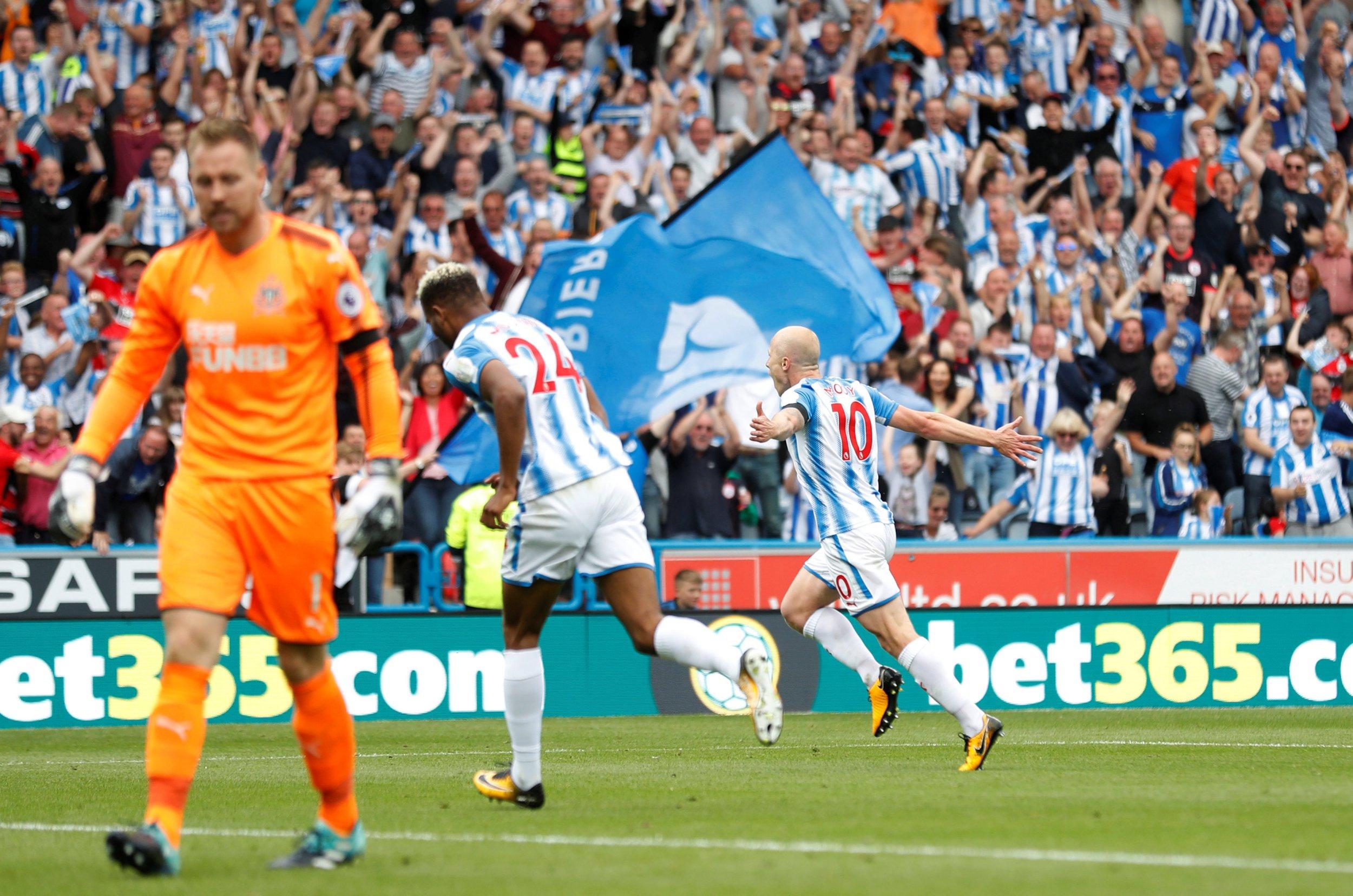 Huddersfield make history as their dream Premier League start continues