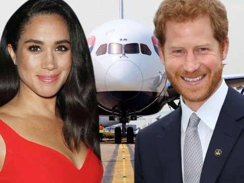 Prince Harry's elaborate way of picking Meghan Markle up from the airport