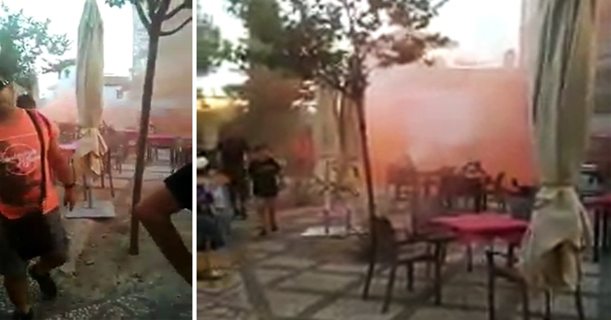 Racists are targeting mosques across Spain with flares, graffiti and abuse after Barcelona