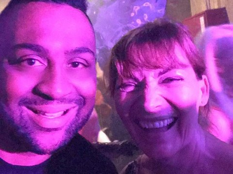 Lorraine Kelly spotted partying into the early hours at live Craig David set in Marbella