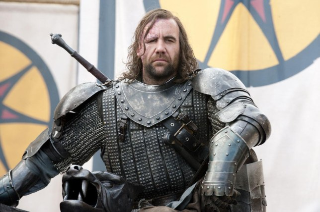 Rory McCann as Sandor 'The Hound' Clegane in Game of Thrones