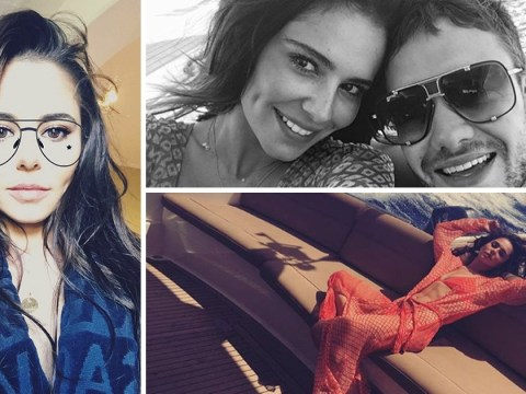 Cheryl and Liam Payne look smitten as they share first holiday pictures since birth of baby Bear