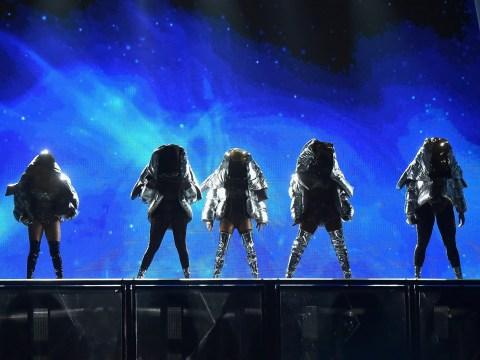 Fifth Harmony throw all kinds of shade at Camila Cabello at MTV VMAs