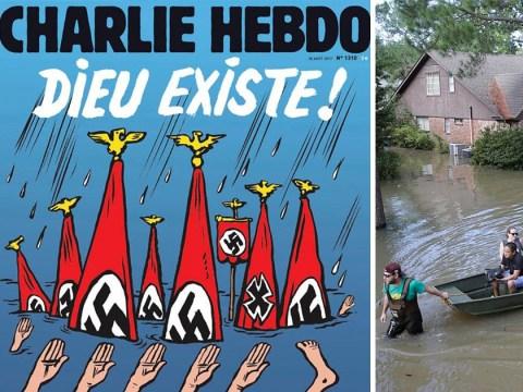 Charlie Hebdo mocks Hurricane Harvey victims as 'Neo-Nazis'