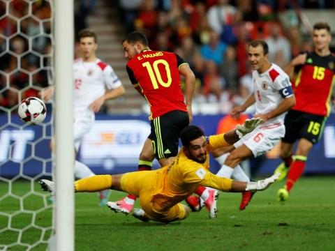 Eden Hazard starts for Belgium in move that will infuriate Chelsea manager Antonio Conte