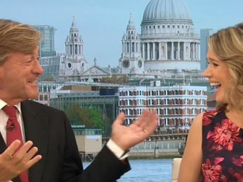 Richard Madeley warns GMB's Charlotte Hawkins that Strictly Come Dancing will ruin her marriage