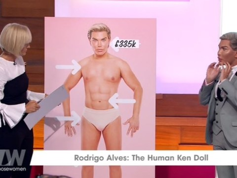 'Human Ken Doll' Rodrigo Alves says bullying sparked surgery addiction: 'I was born in the wrong body'
