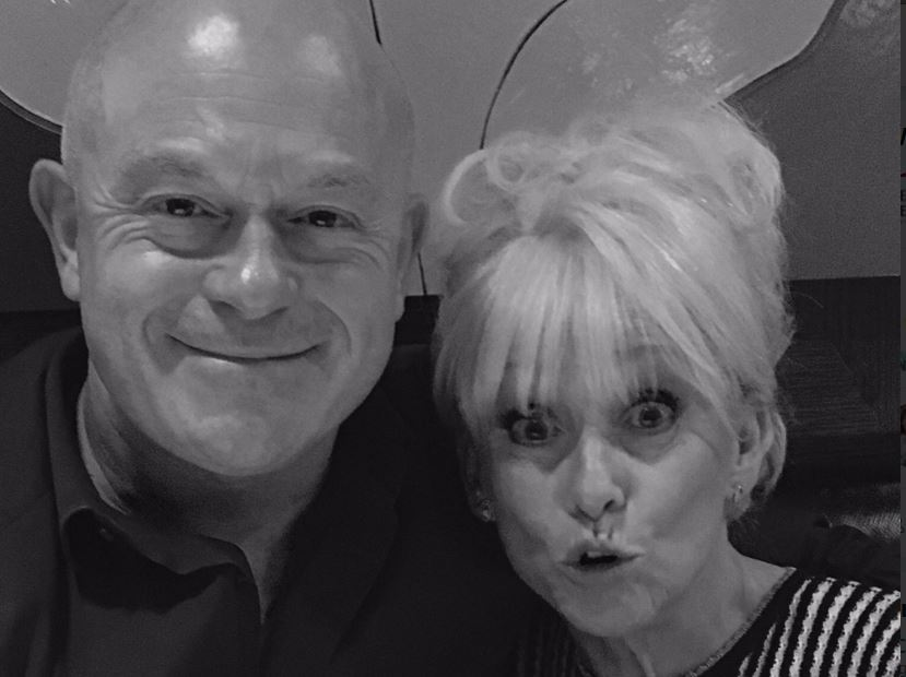 Ross Kemp pays sweet tribute to Dame Barbara Windsor on her 80th birthday