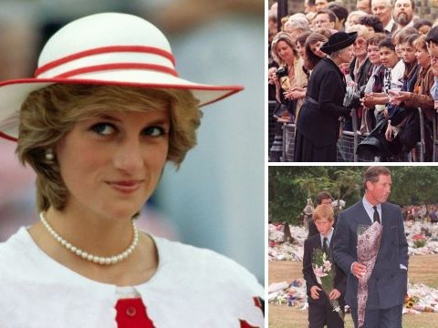How the Queen broke protocol in the seven days after Princess Diana's death
