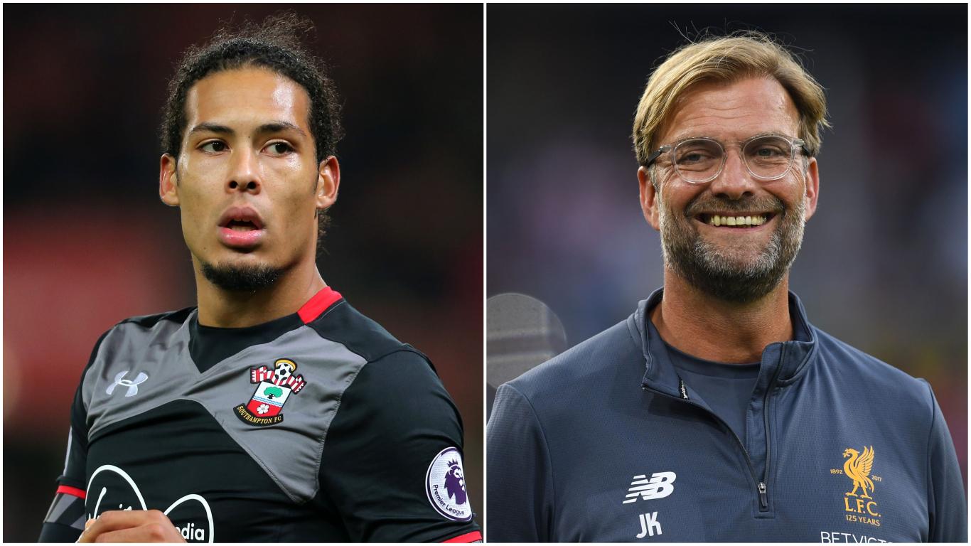 Jamie Carragher uses David Luiz's rise at Chelsea to convince Virgil van Dijk to join Liverpool