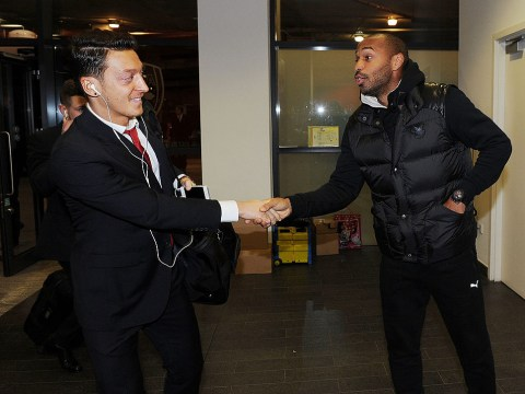 Mesut Ozil conveniently omits Thierry Henry from Arsenal legends list after strong criticism