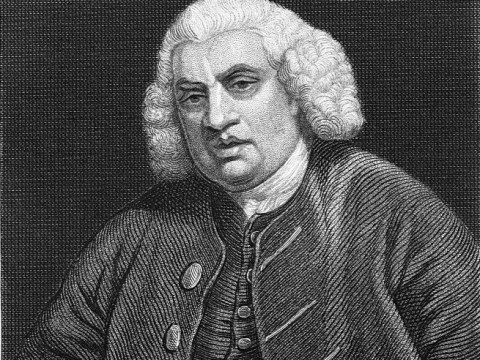Who was Samuel Johnson and when did he write the first dictionary?