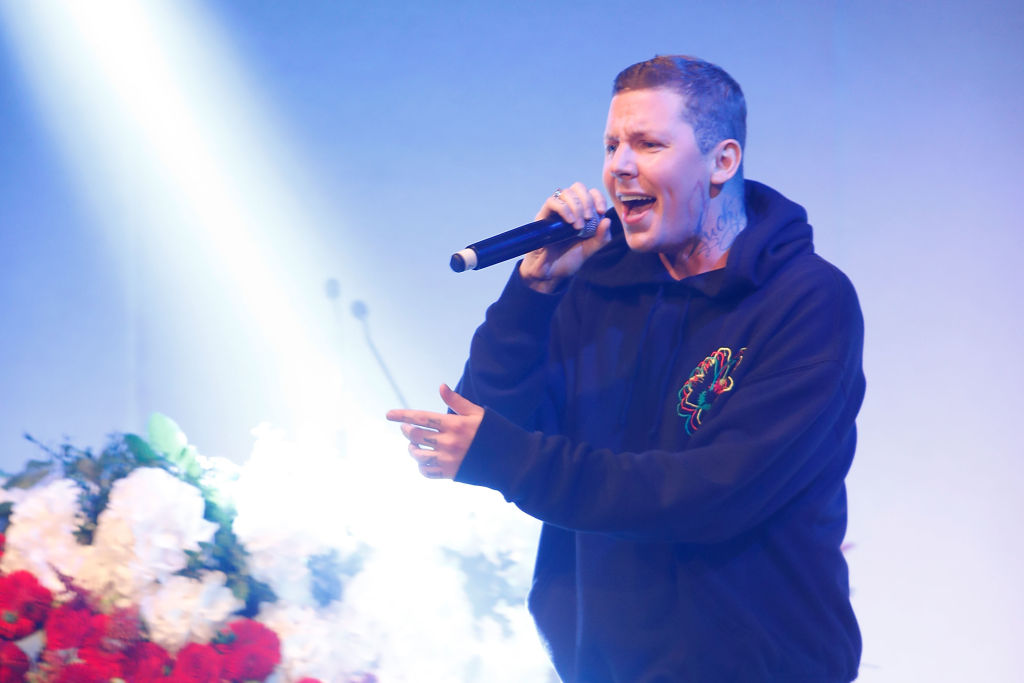 Professor Green rages at 'f*****g c**t' who scratched his Mercedes