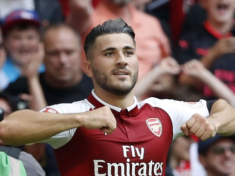 Sead Kolasinac wins awkward Arsenal player of the month award for August
