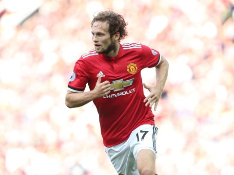 Daley Blind sends statement to Manchester United by excelling at left-back with the Netherlands