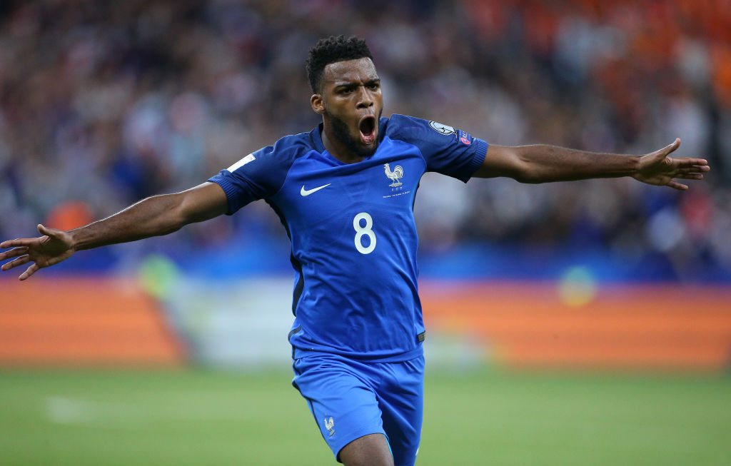 Thomas Lemar sums up Arsenal's transfer window by robbing Alexandre Lacazette's goal in France clash
