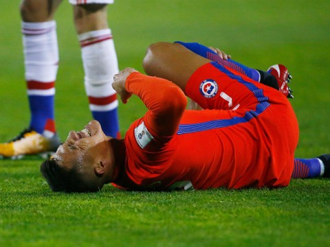 Alexis Sanchez gives Arsenal injury scare while on Chile duty