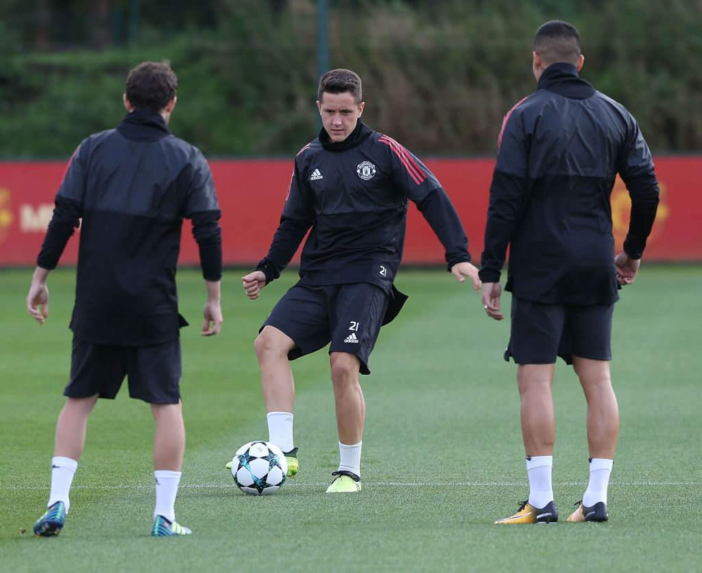 Ander Herrera admits he faces battle to replace Nemanja Matic in Manchester United side