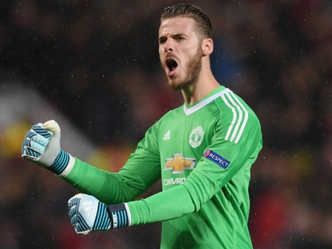 David De Gea claims 100 clean sheets for Manchester United as Jose Mourinho's side defeat Basel