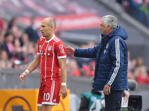 Arjen Robben refuses to back Carlo Ancelotti after PSG mauling