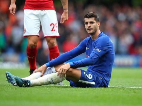 Chelsea's Antonio Conte wants Alvaro Morata to be more aggressive as Diego Costa nears exit