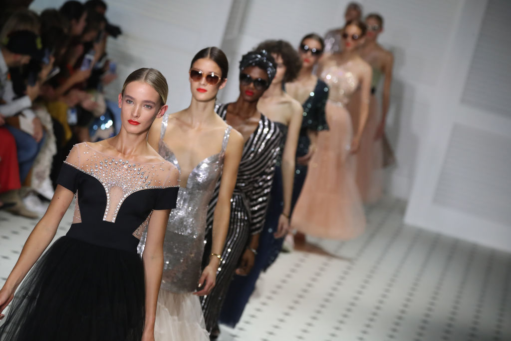 The Temperley London LFW show was a French Riviera inspired dream