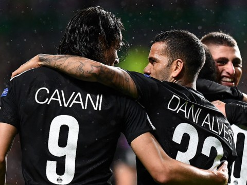 Diego Forlan calls Dani Alves 'Neymar's b****' in explosive defence of Edinson Cavani after PSG penalty furore