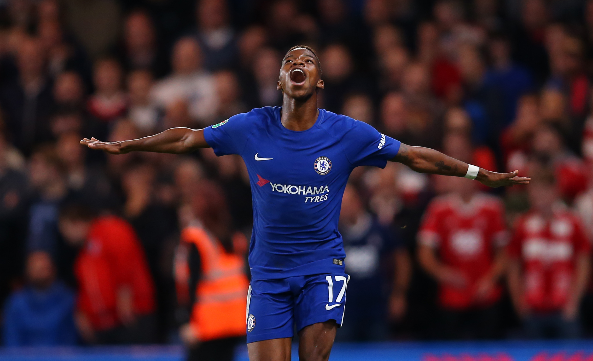 Charly Musonda admits he was close to tears after scoring first Chelsea goal