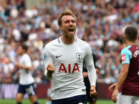 Christian Eriksen inspires 10-man Tottenham to London derby win against West Ham