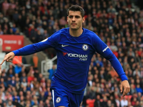 Alvaro Morata scores Chelsea's 17th Premier League hat-trick, closing in on Arsenal's record of 19