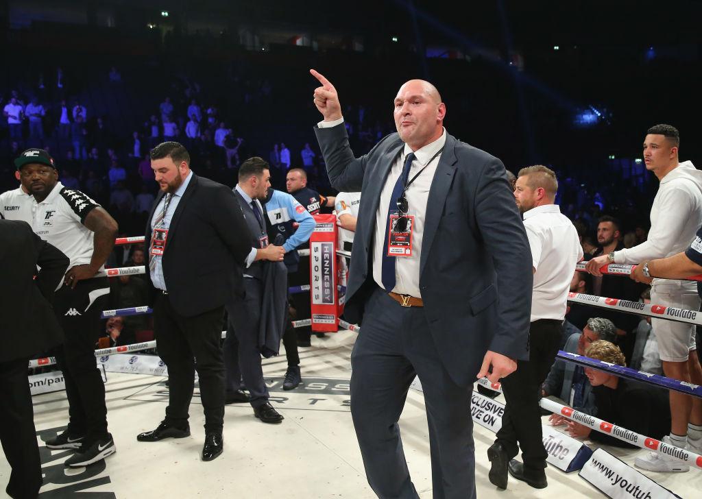 Tyson Fury prepared to channel Muhammad Ali to stop Anthony Joshua