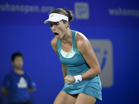 Johanna Konta remains in control to reach WTA Finals in Singapore after Svetlana Kuznetsova defeat in Wuhan