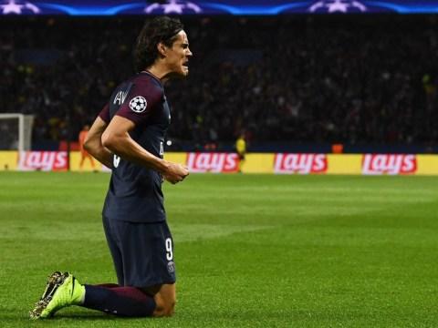 Edinson Cavani joins elite Champions League group after stunning goal vs Bayern Munich