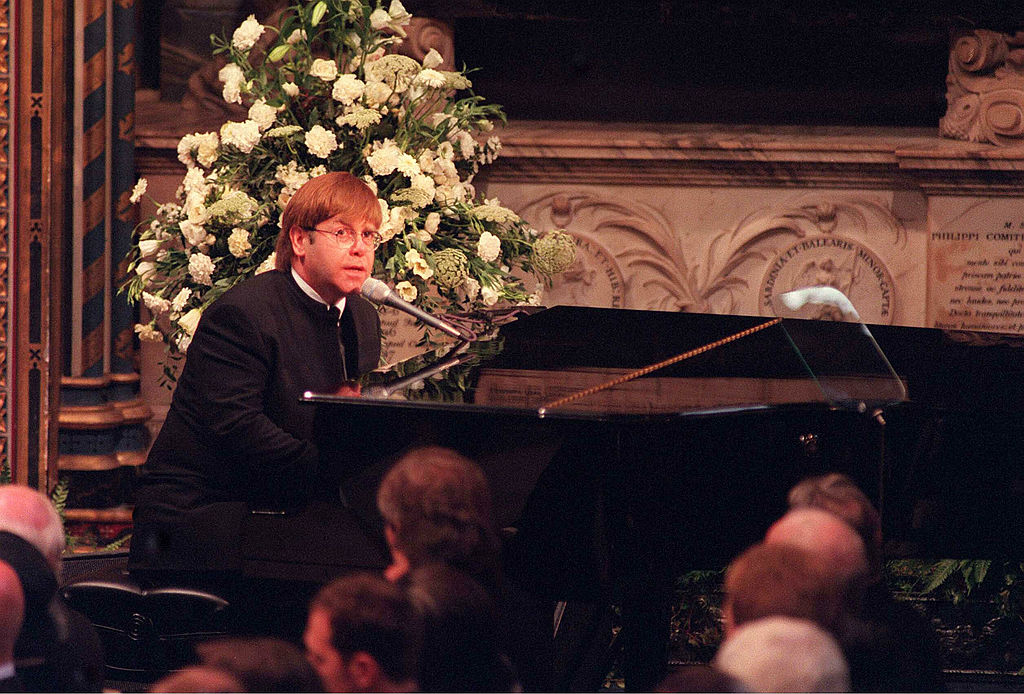 Elton John's piano tuner reveals how they prepared for Princess Diana's funeral