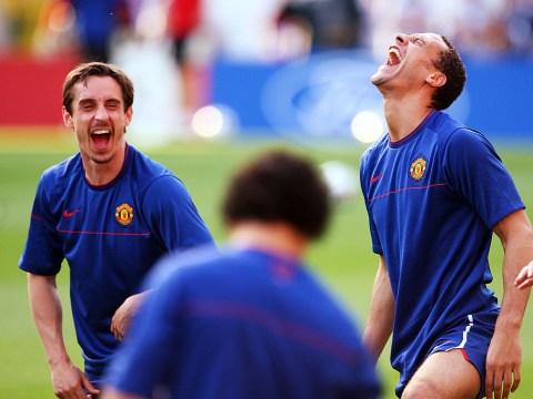 Gary Neville trolls former Manchester United teammate Rio Ferdinand over boxing career change