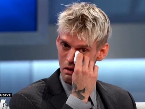 Aaron Carter reveals fears he could be HIV positive as he breaks down during TV interview