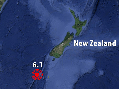New Zealand shaken by large tremors just hours after Mexico City earthquake