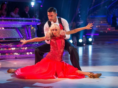 Debbie McGee becomes early Strictly contender after dazzling paso doble