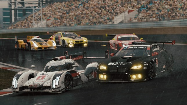 Project CARS 2 (PS4) - rain, rain come again, 'cause you look really cool