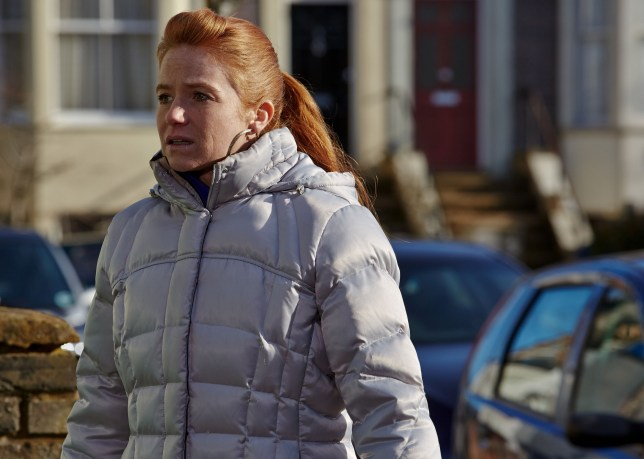 Patsy Palmer as Biance Butcher in EastEnders
